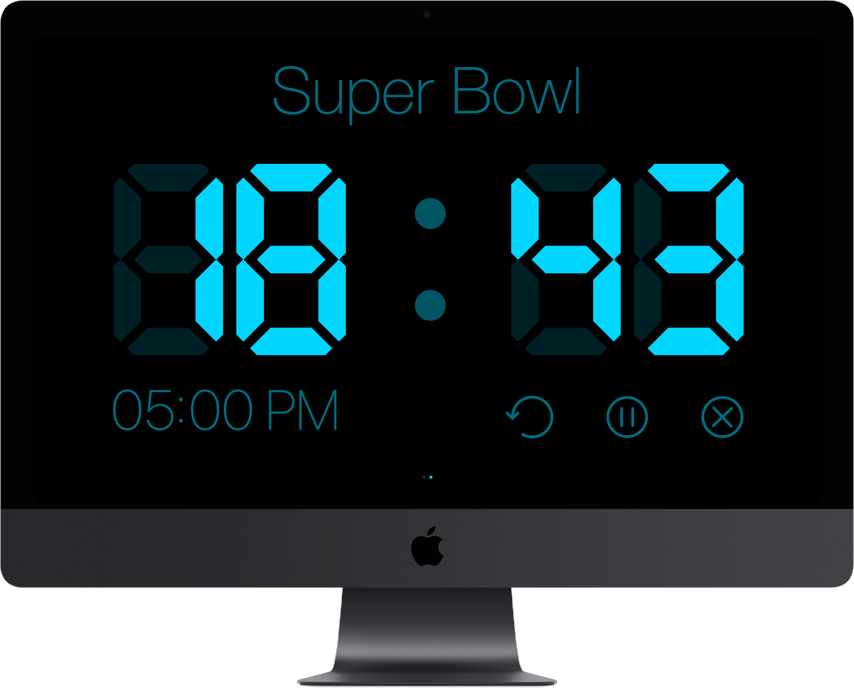 Timer For MAC OS